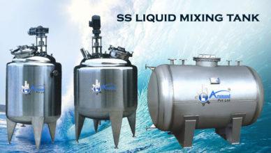ss mixing tank